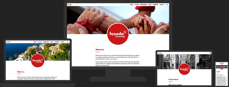 Site web responsive Fasada