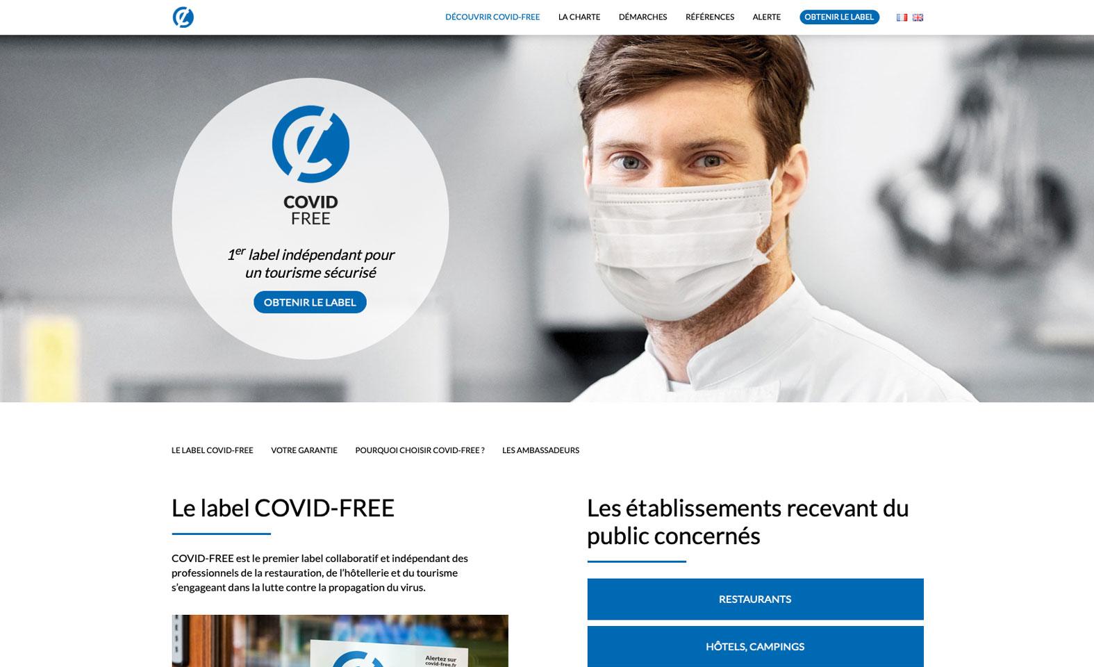 Site web COVID-FREE